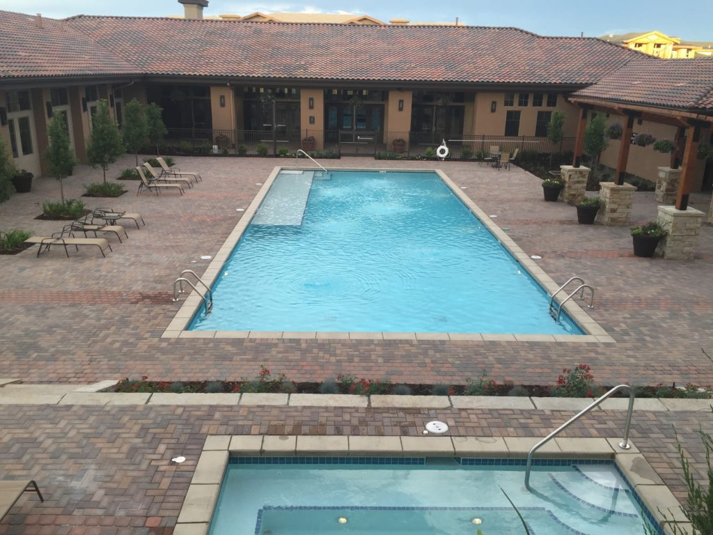 New Brick Paver Pool Deck