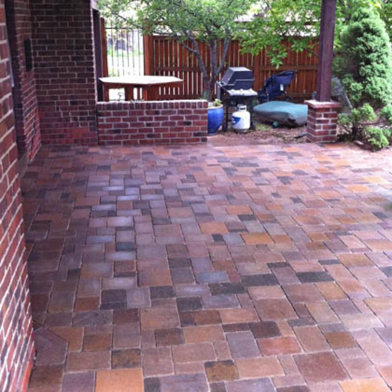 After Photo of Patio Install