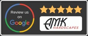 Leave a 5-star review for AMK Hardscapes
